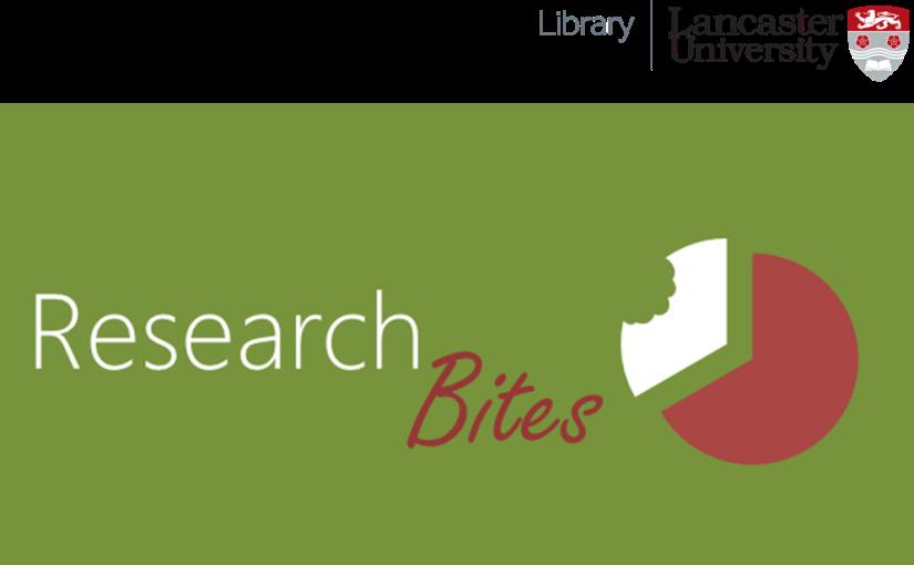 Research Bites is having abreak
